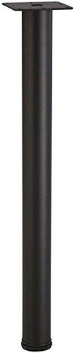 34-1/4' Tall Counter Height Leg - Flat Black