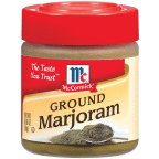 McCormick Ground Marjoram .65OZ (Pack of 12)