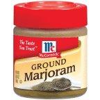 McCormick Ground Marjoram .65OZ (Pack of 12)