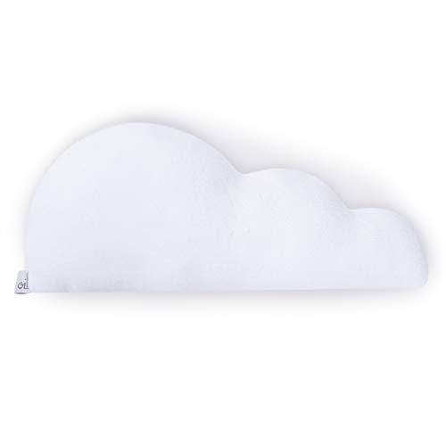 Fluffy Pillow – White Throw Pillows – Cute Pillows – Kids Pillow – Baby Girl Nursery Decor – Baby Decorations for Room – Girls Room Decorations – Boys Throw Pillows – White Cloud Pillow – OILO