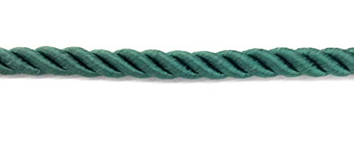 Twisted Hunter Green Cord Trims 1/4