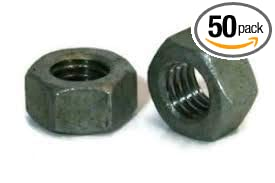 Fastener Depot 3/8'-16 Hot-Dipped Galvanized Hex Nut (50 Pack) 323120FD