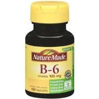 Nature Made Vitamin B-6, 100 mg, Tablets, 100 ct (Pack of 3) by House market