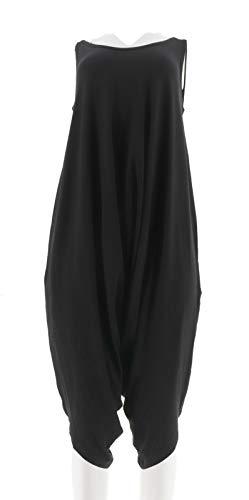 AnyBody Loungewear Petite Cozy Knit Romper Black PXL New A307757 from AnyBody