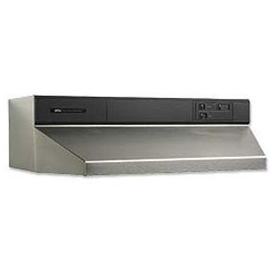 Broan 894804 Contemporary Under-Cabinet Range Hood, 48-Inch, Stainless - Inch Range Broan 48