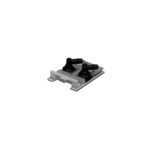 Johnson Controls T-4002-123 Terminal Connector with Angle Fittings for Surface Mounted Thermostats