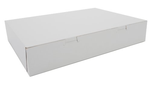 Southern Champion Tray 1032 Premium Clay Coated Kraft Paperboard White Donut Box, 15