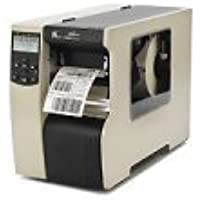 Zebra Technologies 116-8K1-00201 110XI4 Industrial Printer, 600 DPI, US Cord, INT 10/100, B/G Print Server, Rewind with Peel