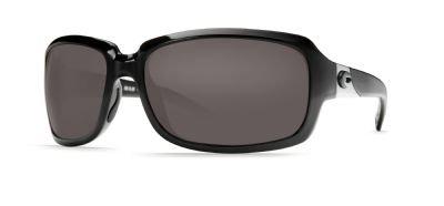 Costa Del Mar Isabela Sunglasses, Black, Gray 580P Lens by Costa Del Mar