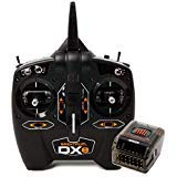 - Spektrum DXe DSMX 2.4GHz 6-Channel Radio System: DXe Transmitter and AR20 Rx Receiver, SPM1005