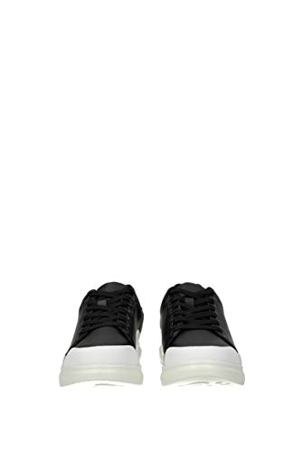 Pelle Nero Uomo Versace e0ytbsn170992 Sneakers Eu Jeans S8qxAT