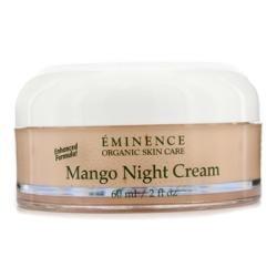 Eminence Mango Night Cream 2 oz - New in Box Alba Botanica - Un-Petroleum Lip Balm Tangerine 18 SPF - 0.15 oz. (pack of 12)