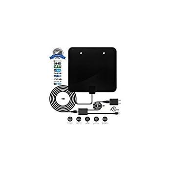 Amazon com: Digital Antenna,TV antenna for digital tv indoor,2018