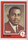 Robert Brown (Football Card) 1989 Leesley Nebraska Cornhuskers - [Base] - Go Big Red #33 - Nebraska Cornhuskers Brown Football