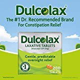 Dulcolax Laxative Tablets, 200 Count (Pack of 3) IULC#C by Dulcolax