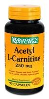 Acetyl L-Carnitine 250 mg Capsules by Kirkman Labs