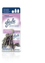 Glade Sense & Spray Refill, Lavender & Vanilla, 0.43 oz-2 pk by Glade