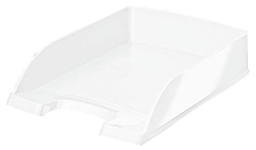 Leitz Bandeja Portadocumentos A4, Blanco Perla, Gama WOW, 52263001