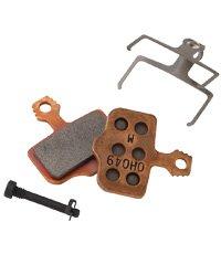 Avid Elixir Disc Brake Metal Pads with Steel (Back)