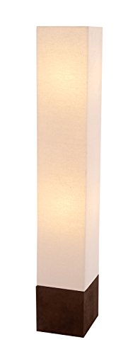 Deco 79 Decorative Floor Lamp, 8-Inch by 47-Inch, Ivory