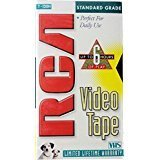 Price comparison product image RCA T-120H VHS Video Cassette 120-Minutes (1-Pack)