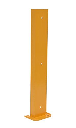 Pallet Structural Rack (Vestil G6-36 Structural Steel Rack Guard, 4 Mounting Holes, 36-1/4