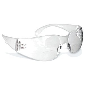 Rugged Blue Reader Safety Glasses - Clear