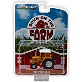 1988 Ford 5610 Tractor Yellow and White with Enclosed Cab Down on The Farm Series 1 1/64 Diecast Model by Greenlight 48010 D ()