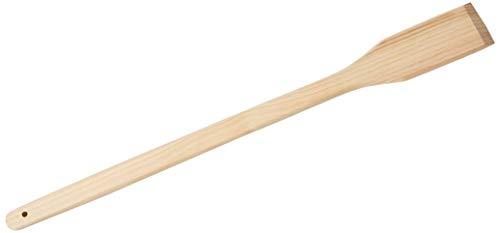 (Winco WSP-36 Wooden Stirring Paddle, 36-Inch, Medium, Brown)