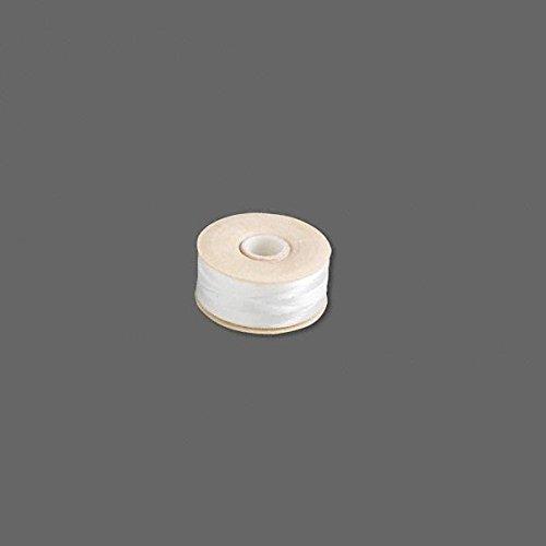 Nymo Nylon Monocord Thread. White Size B. Bobbin of 72 yards (216 feet)