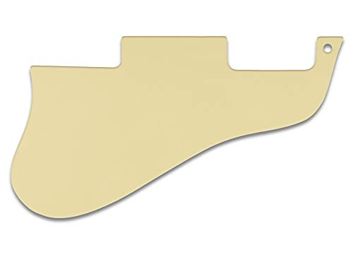 Pickguard For Gibson ES-335 Short, 3-PLY, BLACK CREAM ()