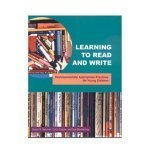 Learning to Read and Write 1st Edition