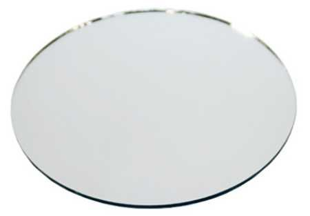 Set of 10 - 12' Diameter Round Glass Table Mirrors for Wedding and Party Centerpieces