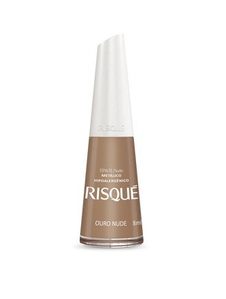 Risque Nail Polish Hypoallergenic Ouro Nude 8ml