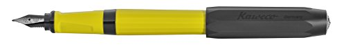 Kaweco Perkeo Fountain Pen Indian Summer (black/yellow) M (Medium)