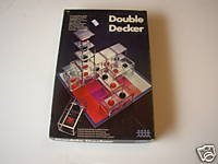 Double Decker 3-Dimensional Strategy Game Pressman Toy Corp 1971 4455