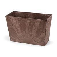 Novelty 35237 Long Ella Planter, Teak, 23-Inch ()