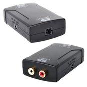 HDTVhookupTM Digital Optical Toslink to Analog Audio Converter