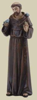 Saint Joseph's Studio St. Francis Saint Catholic Confirmation Santo by Roman Inc. by Unknown