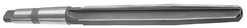 Drill America DWRRBST Series Qualtech High-Speed Steel Bridge Reamer, Straight Flute, Morse Taper Shank, Uncoated (Bright) Finish, 1/2'' Size (Pack of 1) by Drill America
