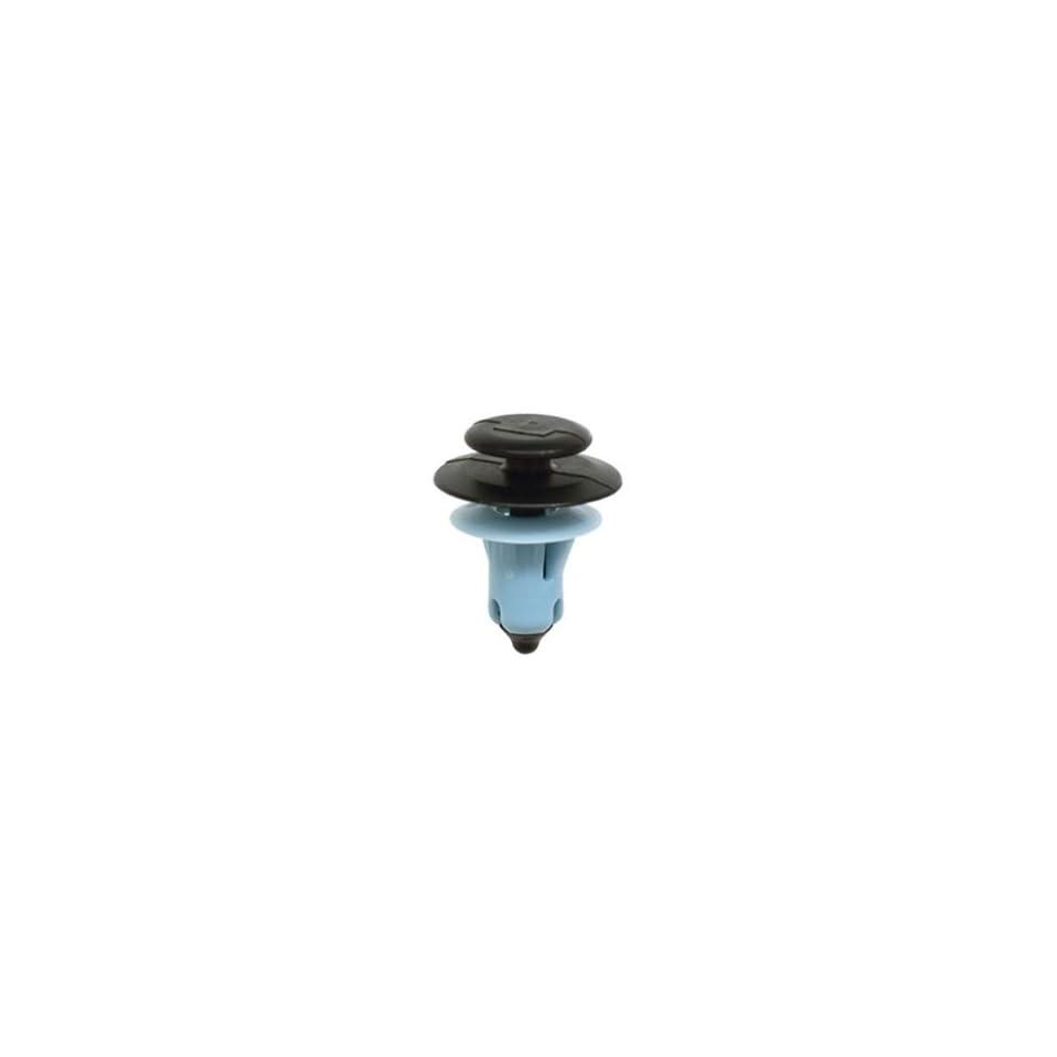 25 Ford Door Trim Panel Push Type Clip Black/Blue Nylon