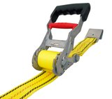 USA Products 27 ft. x 2 in. Step Release Ratchet with Flat Hook