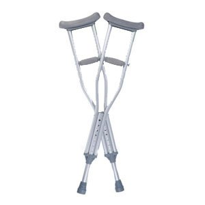 Quick Fit Crutches (Guardian Quick-Fit Child Adjustable Auxiliary Crutches (1 Pair))