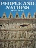 img - for People and nations A World History book / textbook / text book