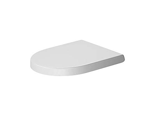 - Duravit 0021090000 - Seat&Cover Darling New, elongated white, hinges ss, soft closure