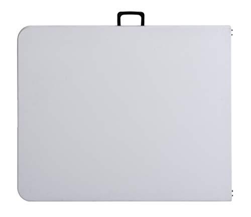 Sandusky Lee FPT7230-WV2 Commercial Fold in Half Utility Table, 6', White, 29'' Height, 72'' Width, 30'' Length by Sandusky (Image #3)