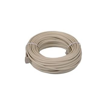 Amazon.com: Parts Express Telephone Station Cable 100 ft. 4 ...
