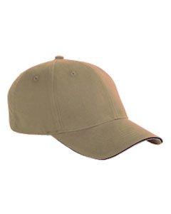 - BX 6 PAN BR TWL SANDWICH CAP (KHAKI/BLACK) (OS)