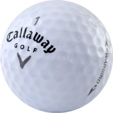 60 Callaway Warbird Near Mint Used Golf Balls - 5 dozen