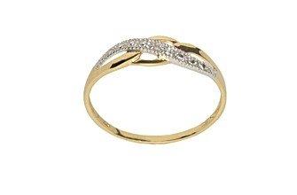 CLEOR - Bague CLEOR Or 375/1000 Diamants - Femme